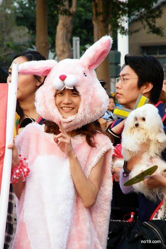 可愛的兔女郎- PC271551