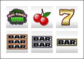 free Big Cash Win slot game symbols