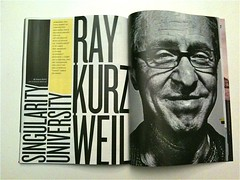 Wired article: Ray Kurzweil,  Singularity Univ...