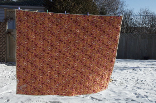 Back of Red Hots quilt