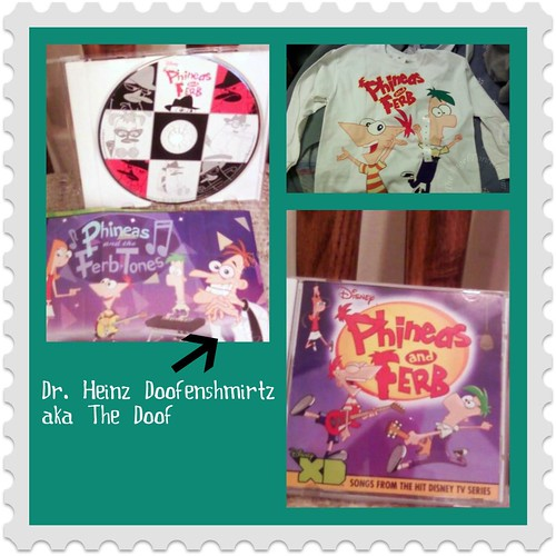 Some of our Phineas and Ferb items