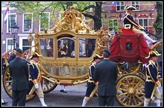 Gouden koets - Golden Carriage (Merijn1982) Tags: netherlands golden carriage nederland royal denhaag palace queen beatrix thehague throne rennaissance koningin langevoorhout prinsjesdag goudenkoets