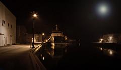 Moon-light-over-harbour (dpicsphotos) Tags: blackandwhite newfoundland boats d70s nikond70s harbourfront dreamscapes grandbank dpicsphotos artgalleryofflickr dreamscapesofnewfoundland