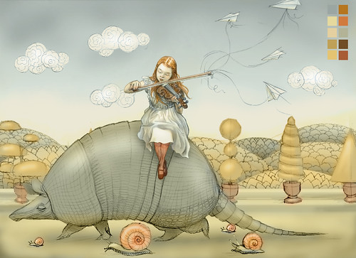 WIP - Armadillo Dream (rough color)