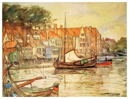 006- Un canal en Middelburg-Holanda-Holland (1904)- Nico Jungman