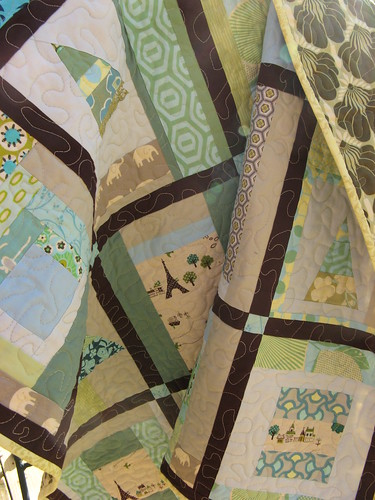 Caitlyn's Quilt draped