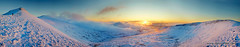New Years Day 2010 (Dan Santillo) Tags: winter panorama snow sunrise breconbeacons stitched newyearsday2010