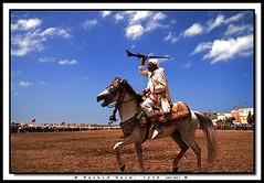 Proud like a Moroccan Horseman - Le cavalier au fusil (Rachid Naim) Tags: party hors