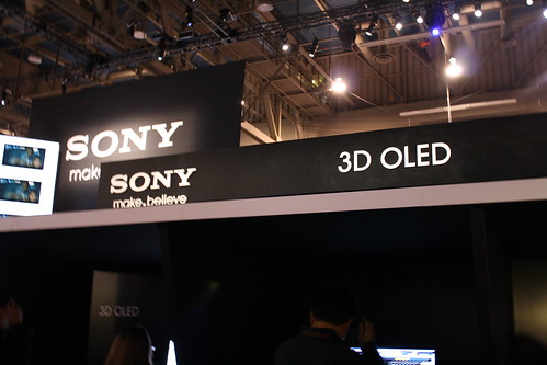 Sonys 3D OLED CES-2010
