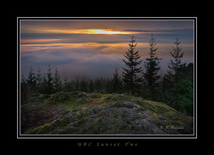 UBC Sunset Two (Maclobster) Tags: sunset forest maple malcolm ubc ridge research knapp keithgrajala
