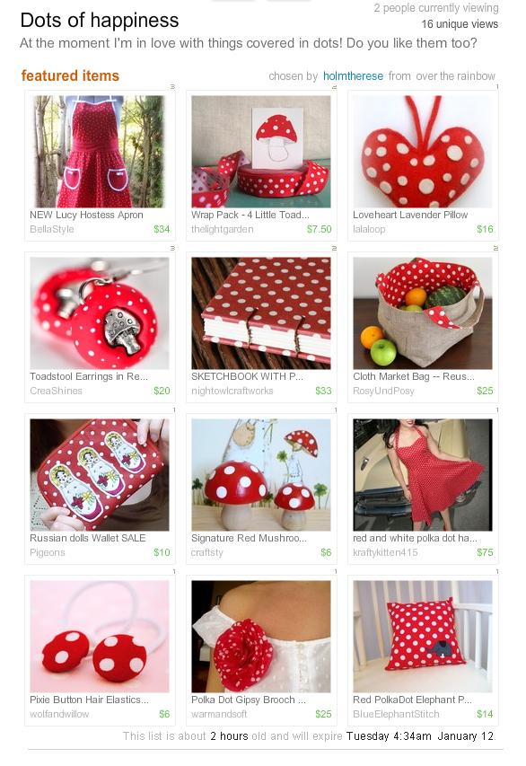 Dots of Happiness Treasury
