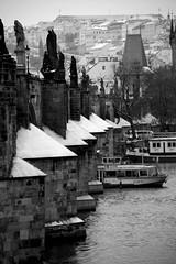 (la Tempest) Tags: bw statue blackwhite fiume praha praga barche bn neve biancoenero karluvmost malastrana traghetti moldava bwemotions pontecarlo bwdreams seebw