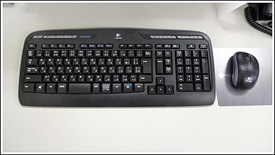 ロジクールのWireless Desktop MK320を買いました