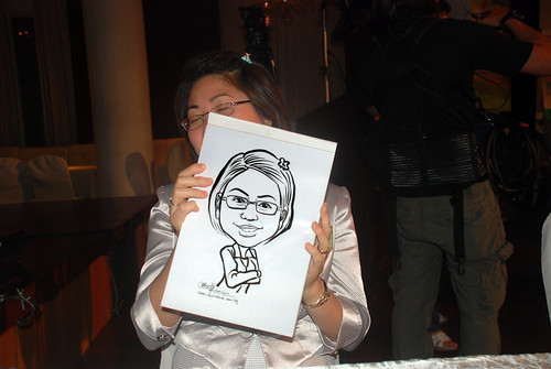 Caricature live sketching for GSK -12