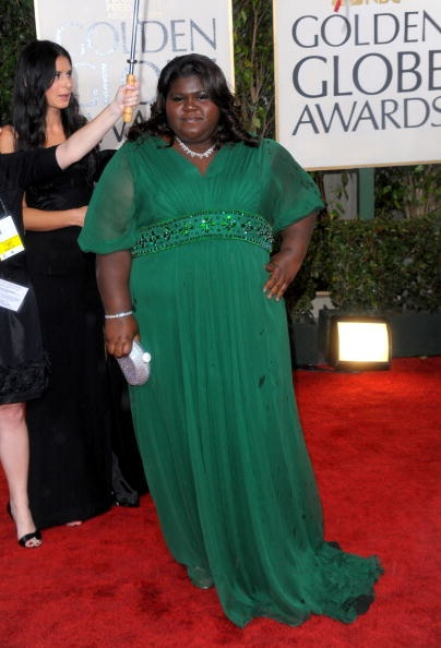 Golden Globes 2010 Gabourey Sidibe