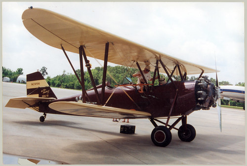Biplane NC9756, Radial Engine