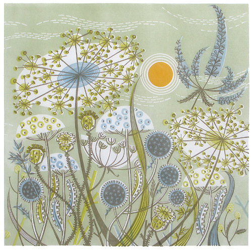 Angie Lewin - Green Meadow
