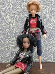 From Disco Girls to Rock Angelz (Douglas & Susan Drever) Tags: girls rock vintage toy disco doll domino 1970s dee matchbox bratz angelz