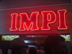 IMPI (von_brandis) Tags: red sign typography neon glow letters cricket signage neonsign newlands wimpy testmatch impi