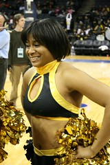 Bowie State University Cheerleaders (Kevin Coles) Tags: sports basketball bowie university cheerleaders cheer ncaa 2009 bulldogs bsu goldengirls blackandgold hbcu ciaa bowiestate bowiestateuniversity blackcollegesports