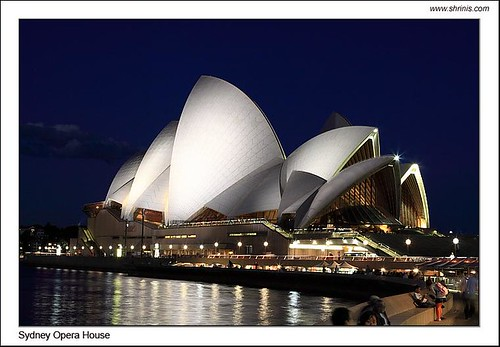 Sydney Opera House - Night View