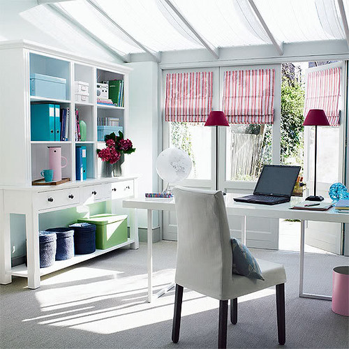 Feminine Home Office