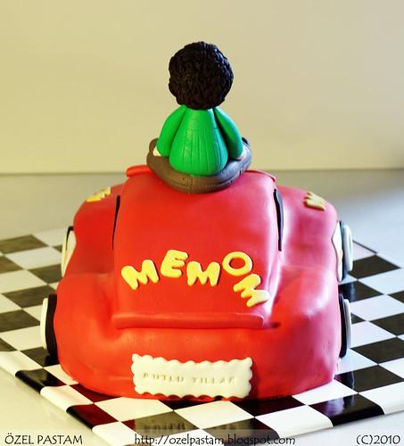 mcqueen2_5Mehmethan'ın Şimşek McQueen Pastası