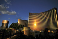 Wynn in sunset light (Uros P.hotography) Tags: world road park trip travel las vegas light sunset sky usa cloud gambling reflection tourism beautiful clouds america hotel amazing nice nikon perfect tour view superb path unique awesome united famous nevada sigma grand tourist casino gaming journey stunning excellent states lovely wynn incredible 1020 breathtaking encore d300 worldfamous slod300