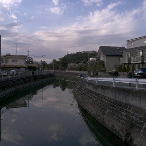 Dusk in Ichikawa