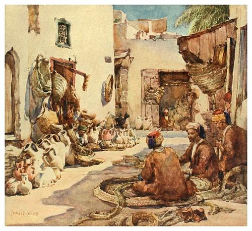019-Frabricantes de cestas en Susa-Algeria and Tunis (1906)-Frances E. Nesbitt- Túnez