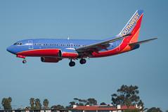 Southwest Airlines parade continues at KSAN (SBGrad) Tags: airport aperture nikon san sandiego boeing nikkor 737 southwestairlines 2010 lindberghfield alr d90 ksan 7377h4 aerotagged 80200mmf28dafs aero:man=boeing aero:model=737 aero:airline=swa n236wn aero:airport=ksan aero:series=7h4 aero:tail=n236wn