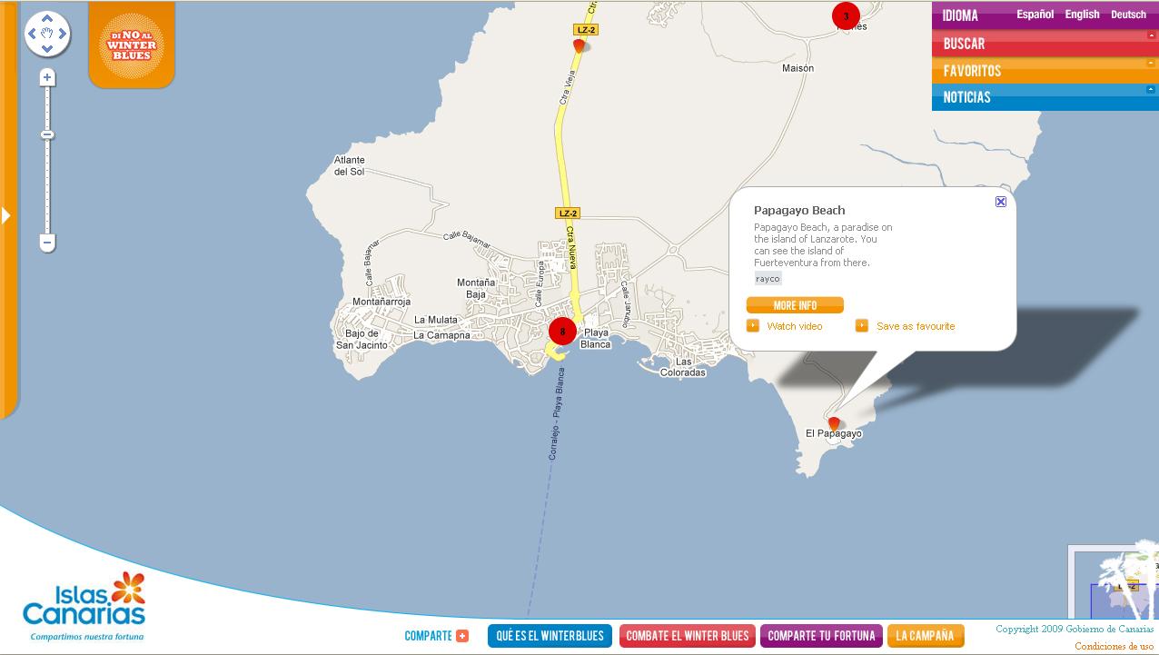 Ilhas Canarias - Lanzarote