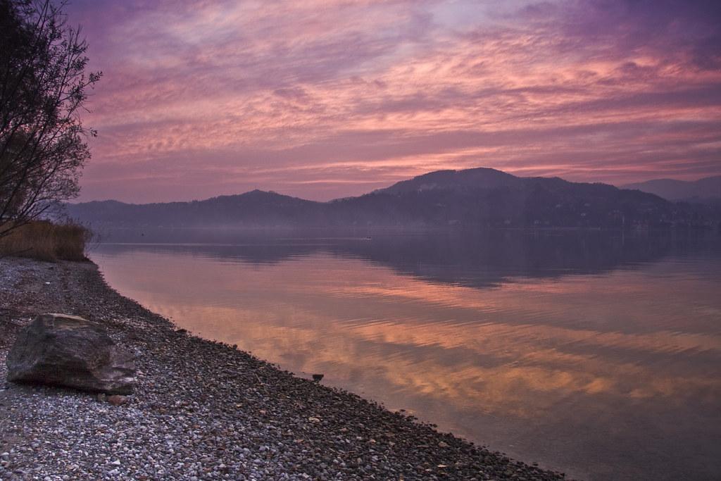 Sunset over Lake Maggiore #2