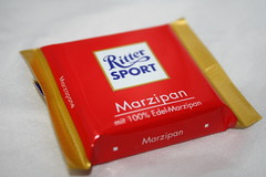 A Bite of Heaven (NewGirlonPost) Tags: chocolate marzipan ritter