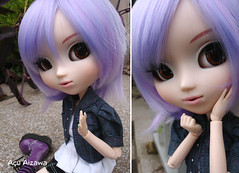 In love *DDW44/52* (Au Aizawa) Tags: diptych doll lilac pullip obitsu rewigged celsiy dollydiptychweekly