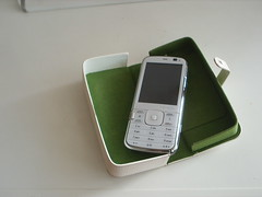 Nokia N79 with case