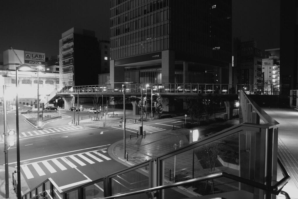 JR Akihabara station rotory