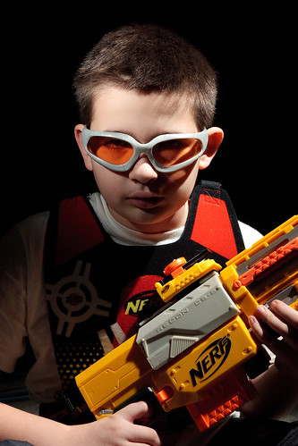 52 Variations - Variation Five a - Nerf Warrior
