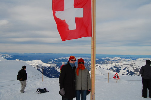 On the Jungfrau