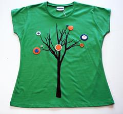 De Estraperlo - Arbol (De Estraperlo) Tags: arbol felt tshirts cartagena camisetas appliqu serigrafia fieltro screenpainting deestraperlo