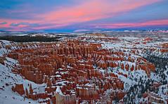 The Silent City (Guy Schmickle) Tags: winter sunset southwest utah nationalpark desert hoodoo brycecanyon inspirationpoint brycecanyonnationalpark desertsouthwest silentcity