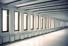(Sameli) Tags: windows white building abandoned espoo suomi finland hall office interior space empty bank row 1977 ue urbex