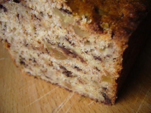 a homemade life's banana cake.