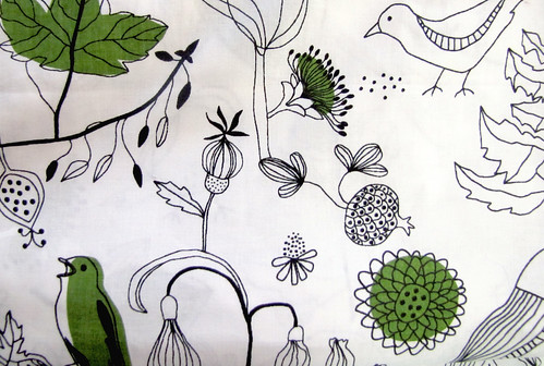 Curtain fabric for the Studio