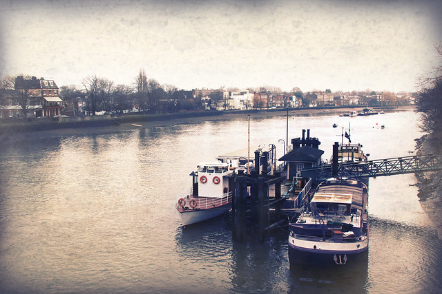 River Thames from Kew Bridge