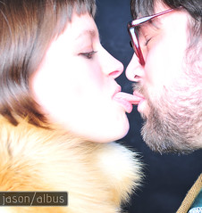 the kiss. (jason albus) Tags: love studio hipsters hipster stpaul minneapolis couples strobe studiophotography minneapolisphotography minneapolisphotographers
