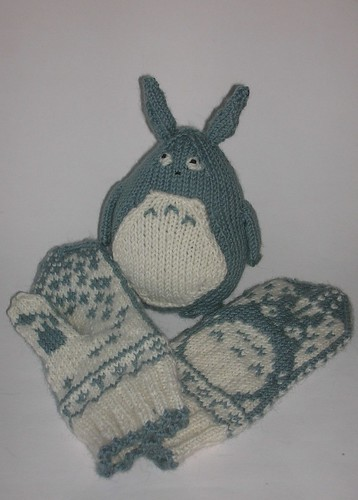 Totoro and his Mittens