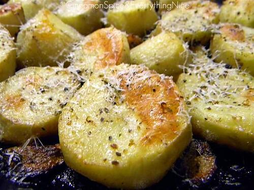 Roasted Lemon Rosemary Potatoes