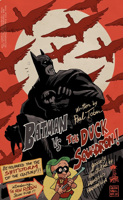 Thumb Comic of Batman and Elmer Fudd: Batman vs. The Duck Squadron!