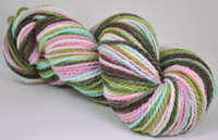 """Hummingbird"" on Mountain Meadow merino"